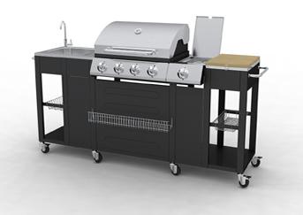 Vendita on line barbecue professionali fuoco alternativo - Barbecue da esterno a gas ...
